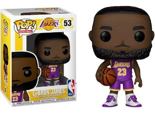 Funko Pop Lebron James 53 Figura De Vinil Exclusiva Nueva