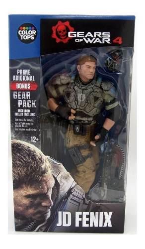 Gears Of War 4 Jade Fenix Mc Farlane Toys Nuevas Sellada