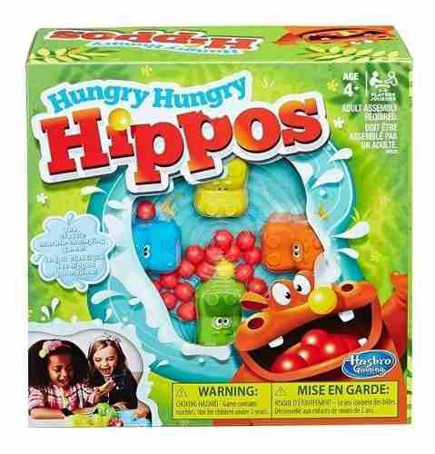 Hippos Glotones Juego Mesa Clasico Hasbro Oferta