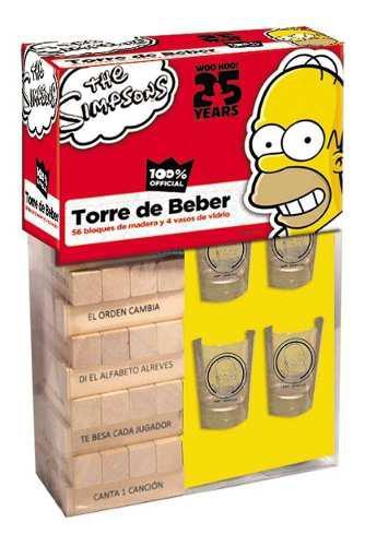Juego De Mesa Torre Del Beber 4 Caballitos Envio Gratis