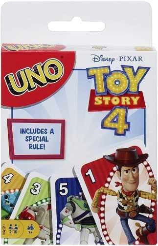Juego De Mesa Uno Toy Story 4 Pixar Mattel Juego De Cartas