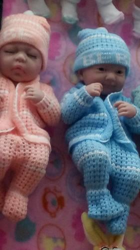 Lote De 4 Bebés Prematuro Nenuco Recién Nacido Tipo Reborn