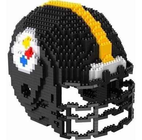 Mini Casco 3d Rompecabezas. Nfl Pittsburgh Steelers