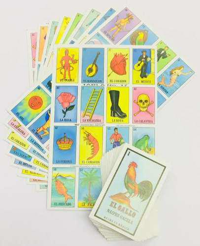 Paquete De 15 Lotería Tradicional Mexicana Gacela 220045