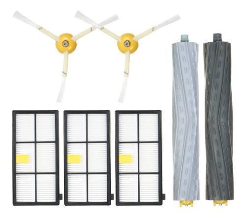 Paquete De 7 Accesorios De Reemplazo Para Irobot Roomba