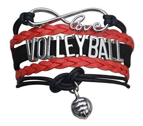 Pulsera De Voleibol- Joyeria De Voleibol De Ninas - Regalos