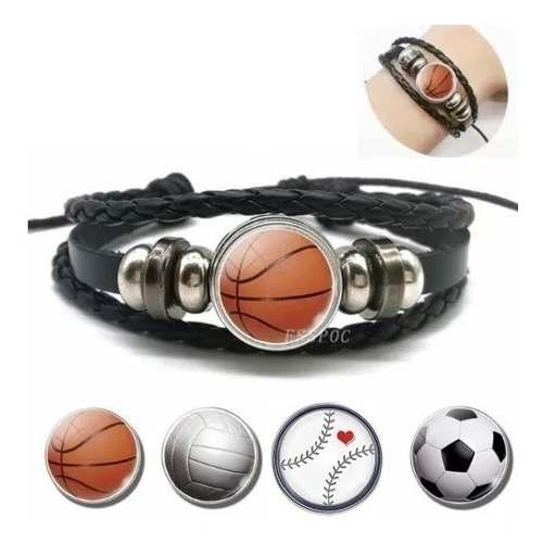 Pulsera Nba Basketball Logo De Balon Envio Gratis