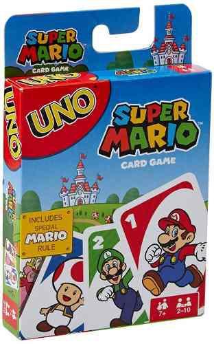 Uno Juego De Mesa Version Super Mario Bros