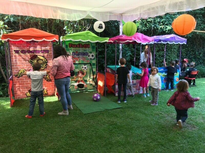 puestos de kermes para tus fiestas infantiles.