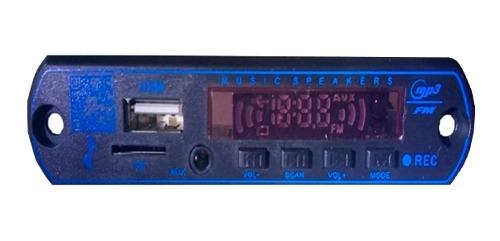 3 Modulo Reproductores De Audio Bluetooth, 3 Amplificadores