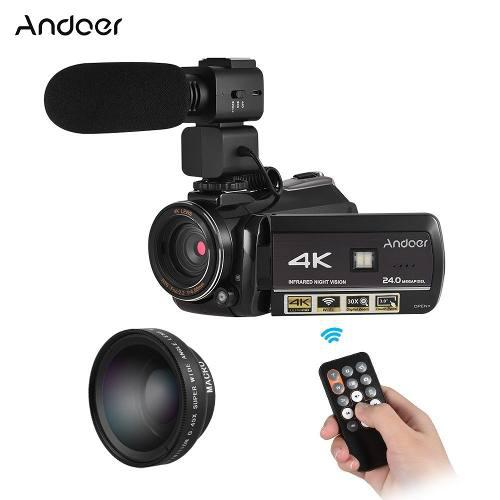 Ac3 4k Uhd 24mp Digital Vídeo Cámara Videocámara Eu Enchu