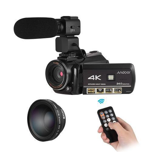 Ac3 4k Uhd 24mp Digital Vídeo Cámara Videocámara Reino Un