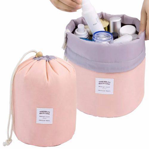 Bolsa Maleta Cosmetiquera Organizadora De Viaje Rosa H8074