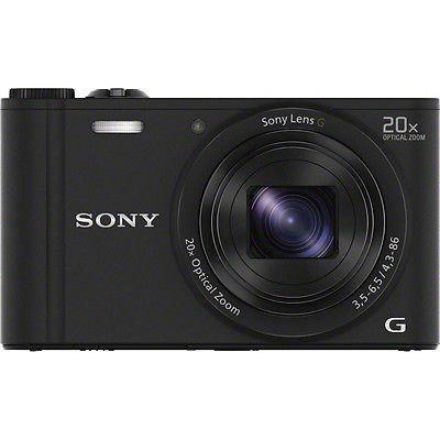 Cámara Digital Sony Cyber Shot Dsc -wx350 (Negro)