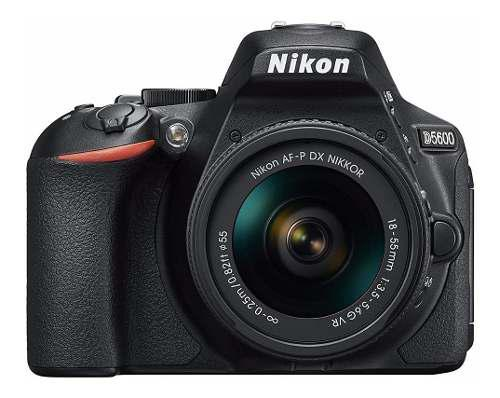 Cámara Nikon D5600 Con Lente Af-p Dx 18-55mm F/3.5-5.6g Vr