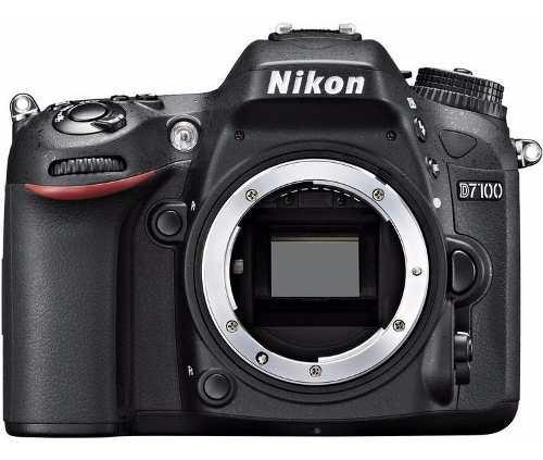 Cámara Nikon D7100 Cuerpo 24.1 Mp Dx Cmos Digital Slr