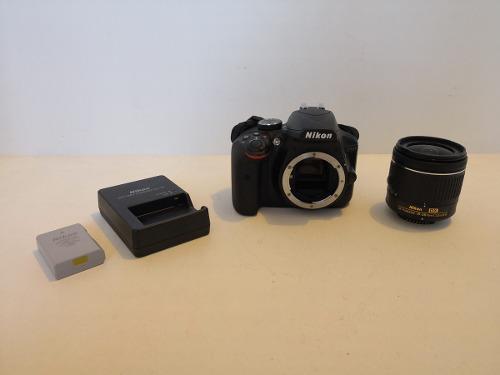 Cámara Réflex Nikon D3400 Kit De Lente 18-55mm Vr Negro