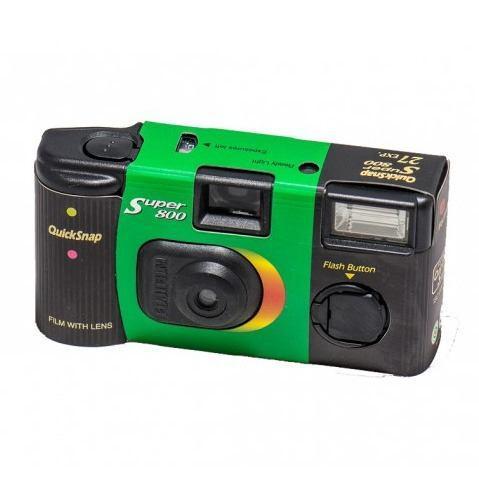 Fujifilm Cámara Desechable Fujifilm Quicksnap Super 800 Con