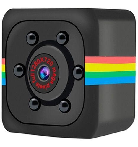 Mini Camara Espia Con Vision Nocturna Y Sensor De Movimiento