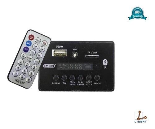 Modulo Mp3 Receptor Audio Bluetooth Usb Tf Aux Fm