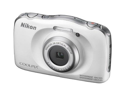Nikon Coolpix W100 Camara Digital Compacta (color Blanco)