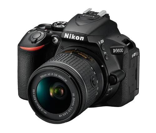 Nikon D5600 Con A-fp 18-55 F/3.5-5.6g Vr Nuevas Y Selladas.