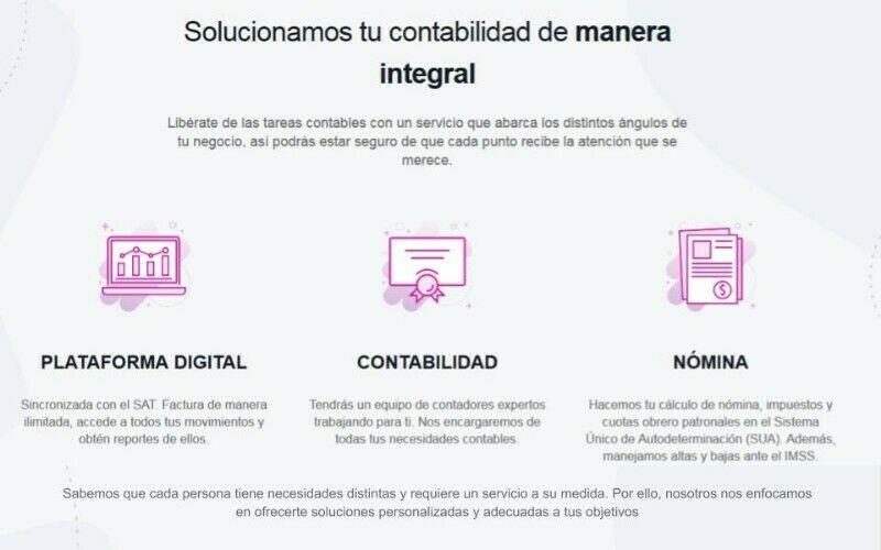 Servicios de Contabilidad Integral y Digital