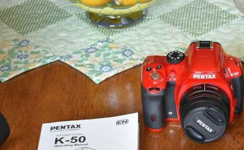 Sji Cámara Digital Pentax K50 + Lente Graba Video Full Hd