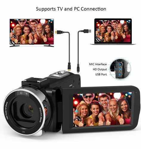 Videocámara Digital Andoer 4k Ultra Hd Wifi