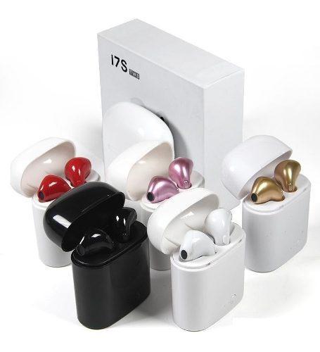 Audífonos Bluetooth Básicos Y Base De Carga I7s Audio Hd