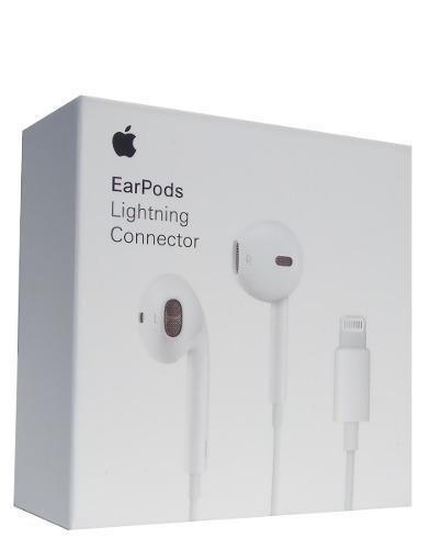 Audífonos Originales Earpods Lightning iPhone 7 8 Xr Xs Max