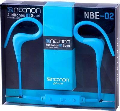 Audifonos Bluetooth Sport Necnon Nbe-02 Azul