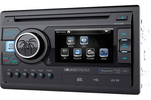 Autoestereo Pantalla Soundstream Vr-346b Bluetooth Doble Din
