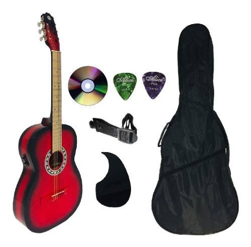 Guitarra Electroacústica Brx En Paquete Completo