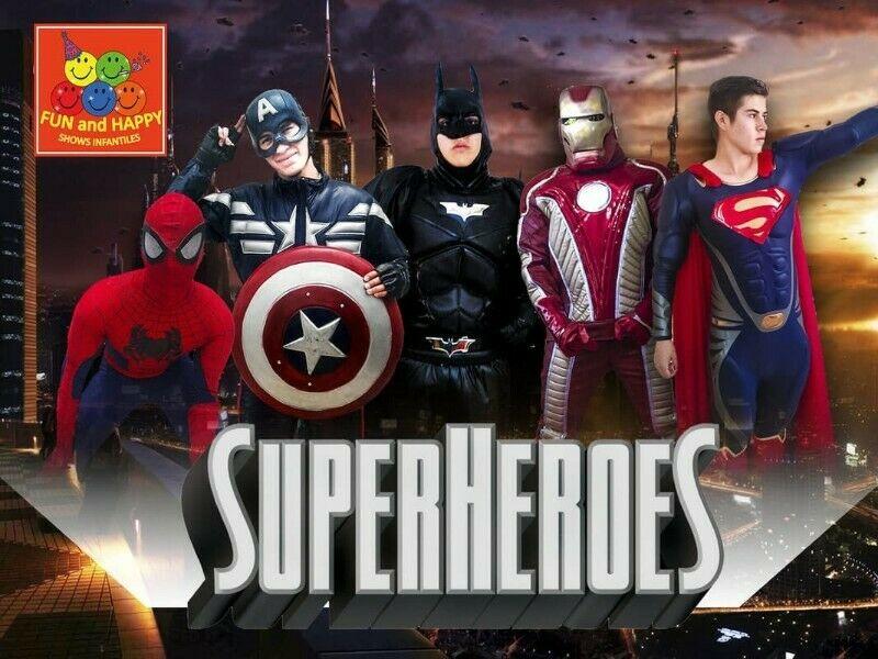 INCREIBLE SHOW INFANTIL DE SUPERHEROES!