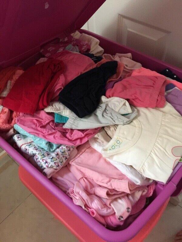 Lote de ropa de niña de 3 a 6 meses