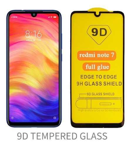 Mica De Cristal Templado 9d Xiaomi Redmi Note 7