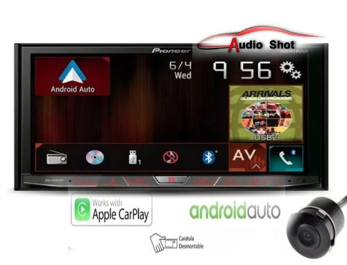 Pantalla Pioneer Avh-xbt Car Play Con Camara De Reversa