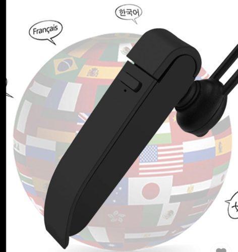 Traductor Auricular De Voz Inteligente Bluetooth Marca Peiko