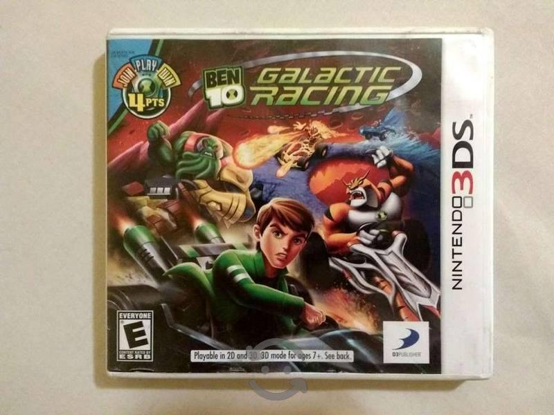 Ben 10 Galactic Racing 3DS Perfectas Condiciones
