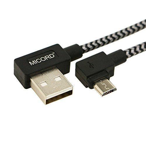 Cable Micro Usb De Ángulo Recto De 1 M Y 33 Pies Cable Usb