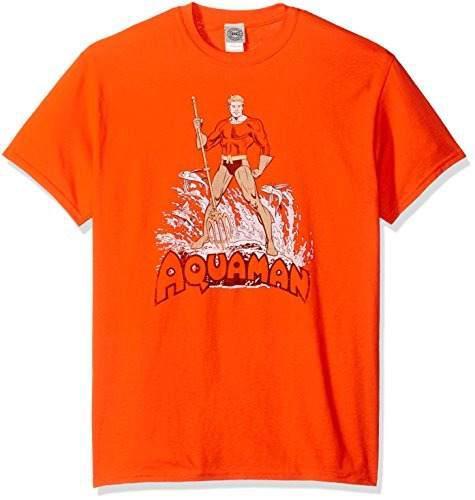Camiseta De Manga Corta Para Hombre Aquaman De Dc Comics, Na