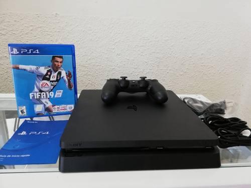 Consola Sony Ps4 Slim 1tb + 1 Control + 1 Juego ¡seminuevo!