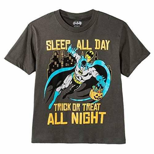 Dc Comics Batman Boys Camiseta Manga Corta Trick Or Treat X