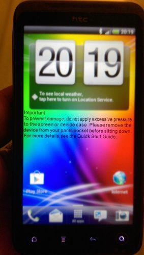 Htc Evo 3d Gsm Fotos Videos Peliculas En 3d
