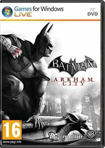 Juegos,batman Arkham City - Pc..