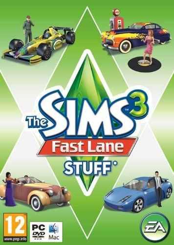 Juegos,sims 3 Fast Lane Material De La Pc