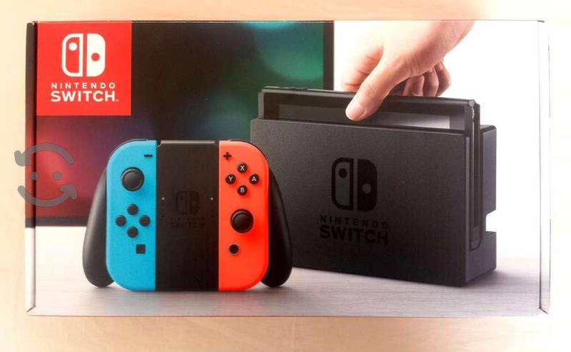 Nintendo Switch NEON (NUEVO) Nunca USado