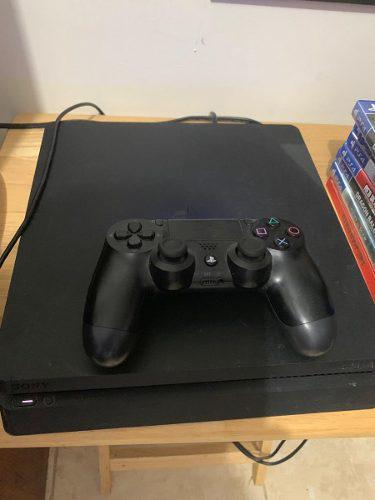 Playstation 4 Slim 1tb + 7 Juegos Ps4 Excelentes Condiciones