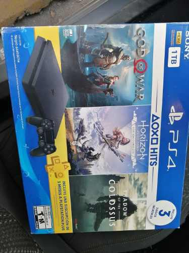 Playstation 4 Slim Ps4 1tb 3 Juegos De Regalo